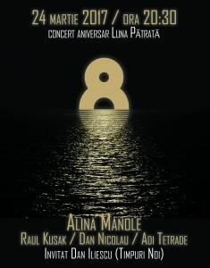 Concert Alina Manole - 8 ani Luna Patrata