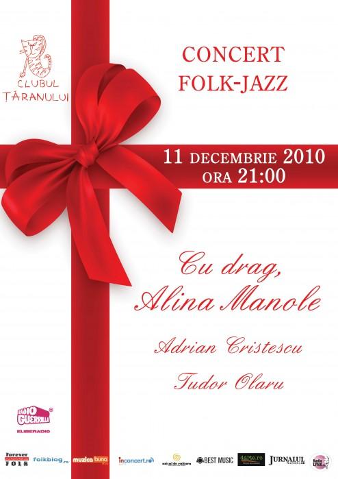 Afis concert Cu drag de pe Luna Patrata - Alina Manole